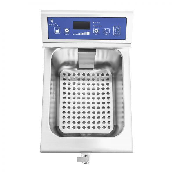 Indukčná fritéza 1x10L, 60 – 190 °C 9