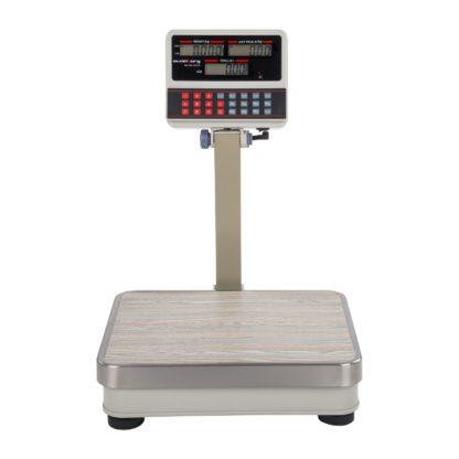 Obchodné váhy - 100 kg10 g - biele - LCD (3111) 2