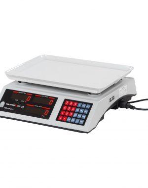 Obchodné váhy - 30 kg1 g - biele - LED (3119) 1