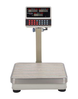 Obchodné váhy - 60 kg5 g - biele - LCD (3110) 2