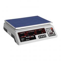 Obchodná kontrolná váha - 30 kg 2 g - biele 10030335-1
