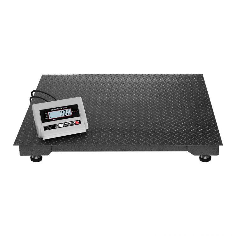 Podlahové váhy - 1000 kg 0,5 kg - LCD - SBS-BW-1T (3085) 2