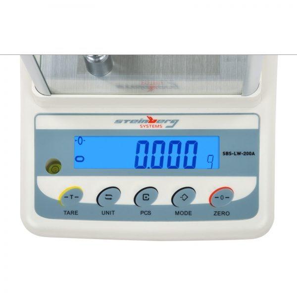 Presné váhy - 200 g0,001 g - SBS-LW-200A (3046) 2