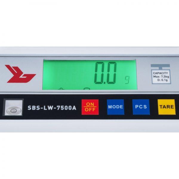 Presné váhy - 7500 g0,1 g - SBS-LW-7500A (3049) 3