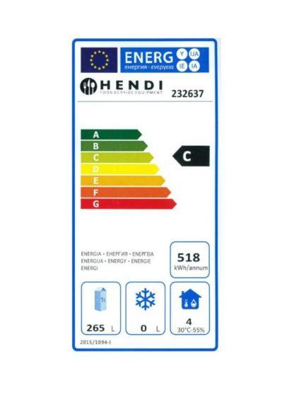 Chladiaca skriňa 350 lit.NEREZ HENDI - 2