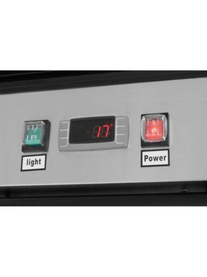 Chladiaca skriňa presklená 610 lit.NEREZ HENDI - 2