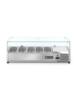 Chladiaca stolová vitrína 5x GN 14-150 mm HENDI - 1