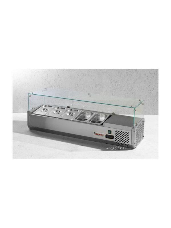 Chladiaca stolová vitrína 5x GN 14-150 mm HENDI - 3