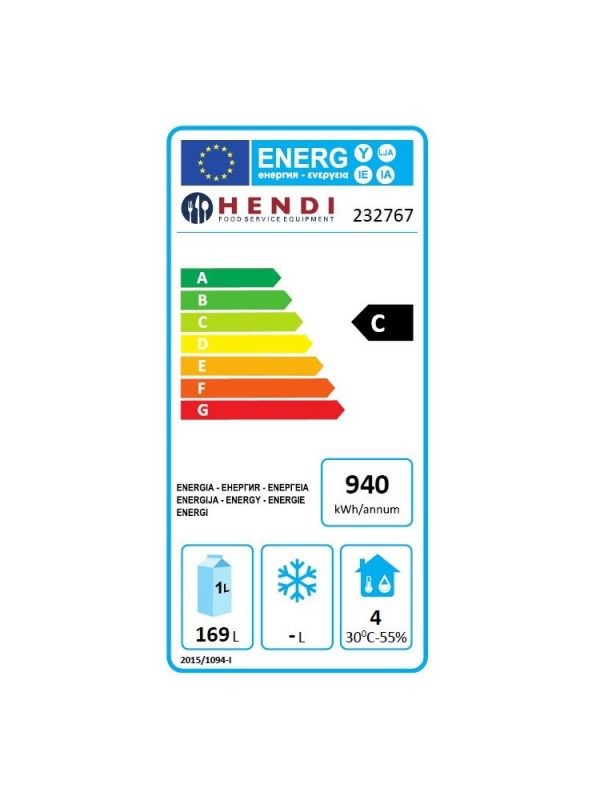 Chladiaci stôl 4-zásuvkový HENDI - 2