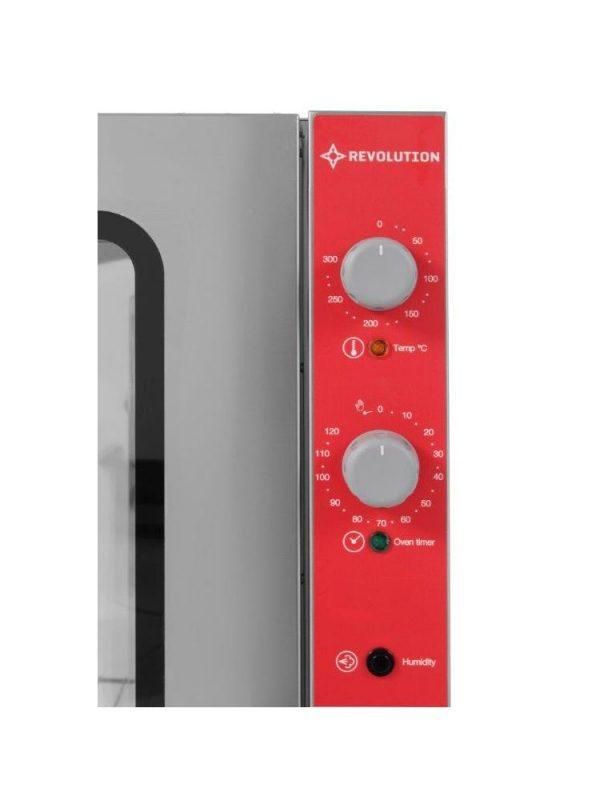 Elektrický parný konvektomat 10x GN 11-MANUAL HENDI - 4