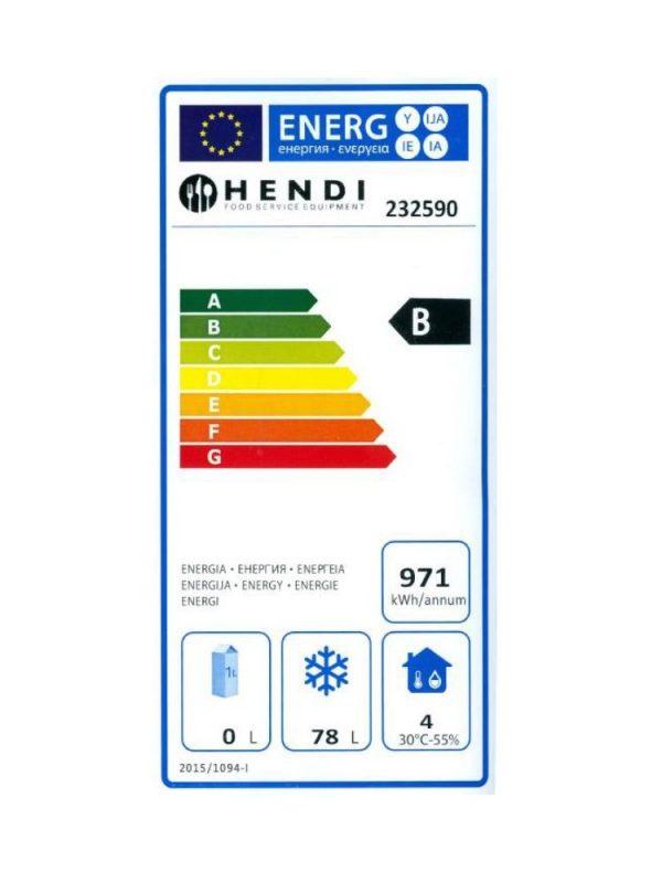 Mraziaca skriňa 120 lit. NEREZ HENDI - 2