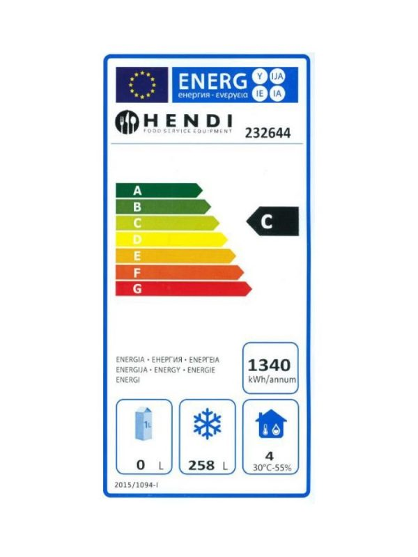 Mraziaca skriňa 340 lit. NEREZ HENDI - 2