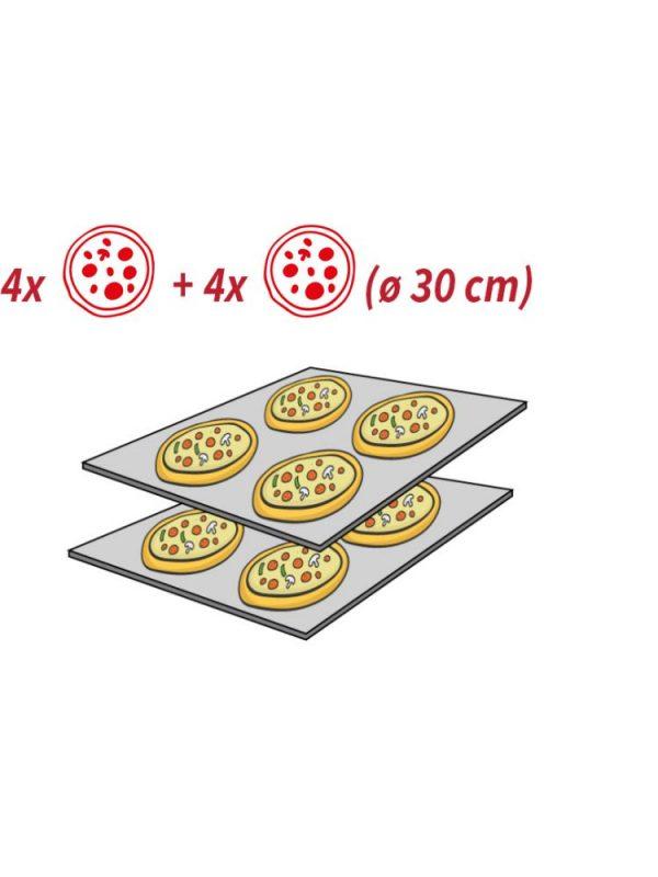 Pizza pec 4+4 (Ø 30 cm) HENDI - 7