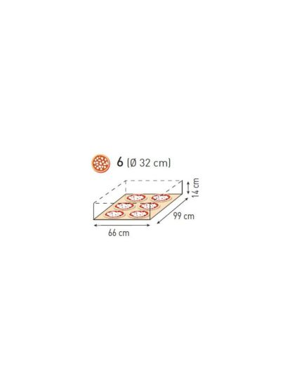 Pizza pec 6 (Ø 32 cm) HENDI - 3