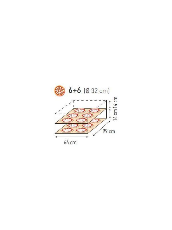 Pizza pec 6+6 (Ø 32 cm) HENDI - 2