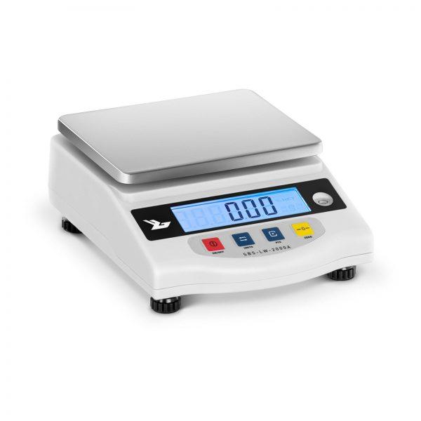 Presné váhy - 2000 g/0,01 g - LCD - SBS-LW-2000A