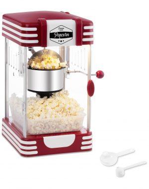 Stroj na popcorn RETRO červený 50. roky 1