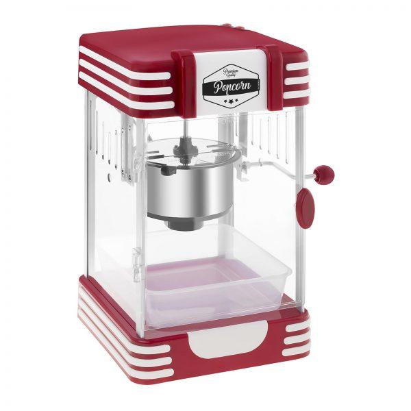 Stroj na popcorn RETRO červený 50. roky 2