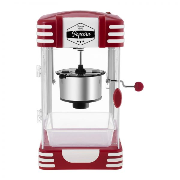 Stroj na popcorn RETRO červený 50. roky 3