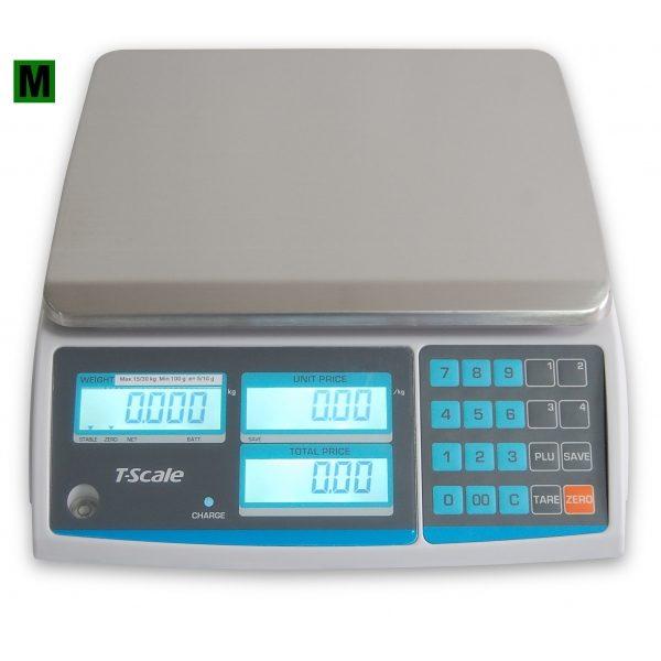 Váha s výpočtom ceny GR-15 do 15kg 1