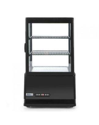 Chladiaca vitrína čierna, výška 816 mm - kód 233627 - 1