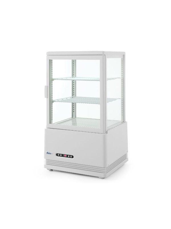 Chladiaca vitrína biela, výška 816 mm - kód 233610 - 2