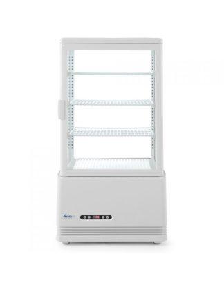 Chladiaca vitrína, biela, výška 966 mm - kód 233641 - 1