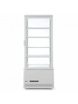 Chladiaca vitrína v bielej farbe výšky 1116 mm - kód 233665 1