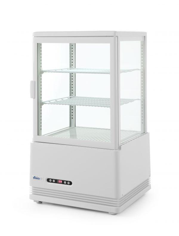 Chladiaca vitrína Hendi 233610 v bielej farbe - model Arktic 233610