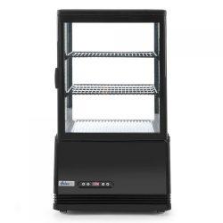 Chladiaca vitrína čierna, výška 816 mm | Arktic 233627