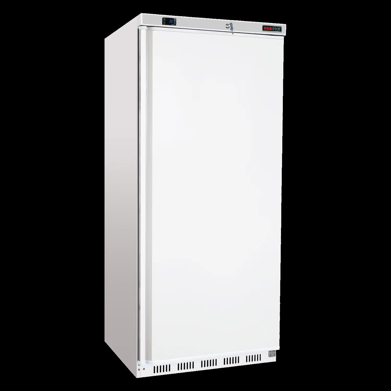 Chladnička biela ventilovaná 600 l, HR-600 /UR-600, plné dvere, chladenie: ventilované, prevedenie vonkajšie aj vnútroné biele.