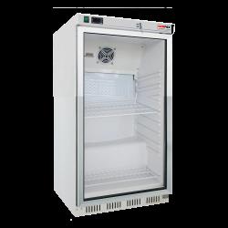 Chladnička podpultová biela presklená ventilovaná 200 l, HR-200 G UR-200 G - 1