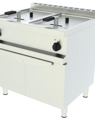 Elektrická fritéza - 2 vaničky, podstavba - 1