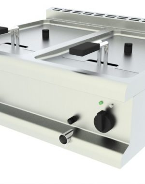 Elektrická fritéza - 2 vaničky, stolná - 1