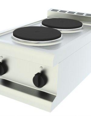 Elektrické varidlo - 2 kruhové platne, stolné - 1