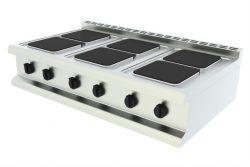 Elektrické varidlo - 6 štvorcových platní, stolné - 1