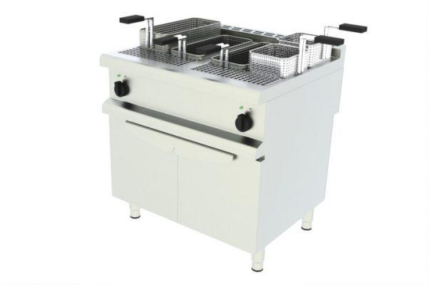 Elektrický varič cestovín - 2 vaničky, podstavba - 1