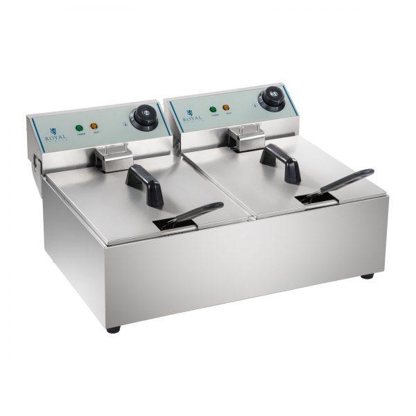Fritéza - 2 x 10 litrov - ECO - ROYAL CATERING 2