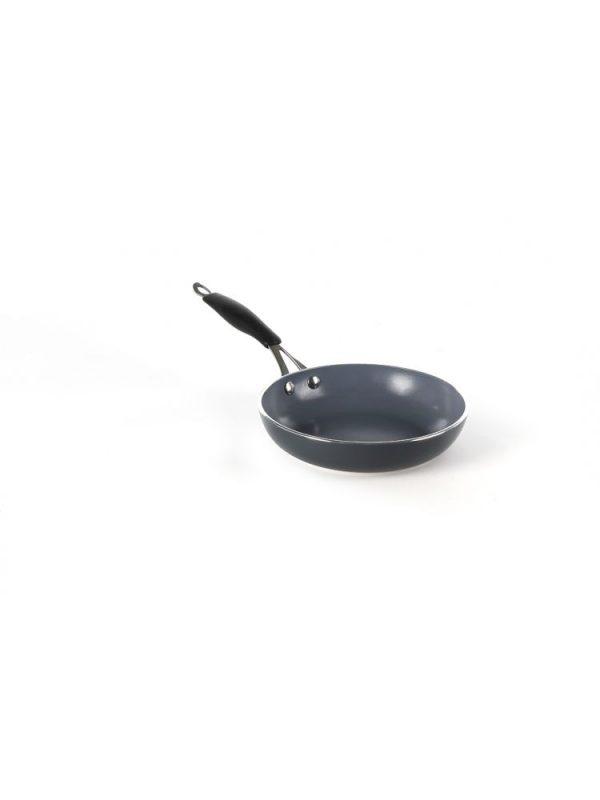 Hliníková panvica s nanokeramickou povrchovou úpravou 200 mm - HENDI 621103 1
