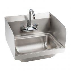 Nerezové umývadlo - vrátane armatúry - 1
