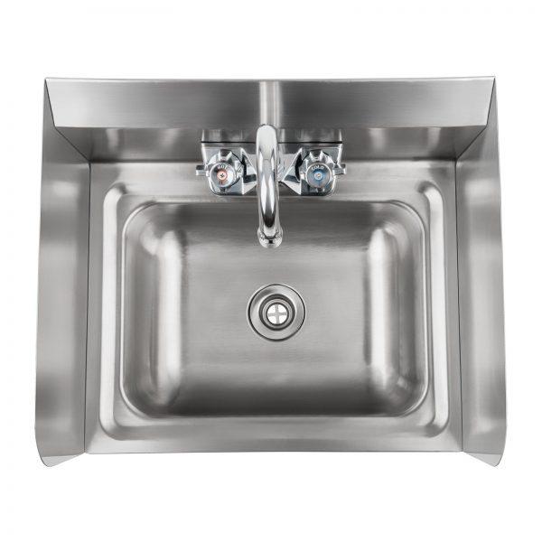 Nerezové umývadlo - vrátane armatúry - 2