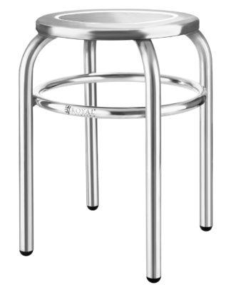 Nerezový stolček - priemer 29 cm - 1