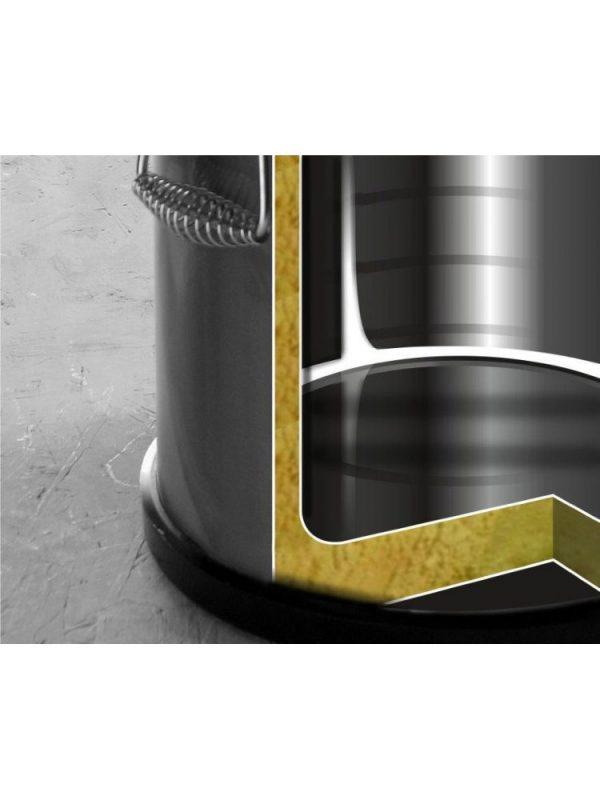 Oceľová termoska na prepravu potravín 50 l s vodovodným kohútom 710333 - 2