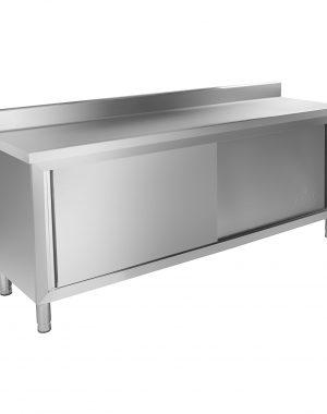 Pracovná skriňa - 200 x 60 cm - so zadným lemom - 1