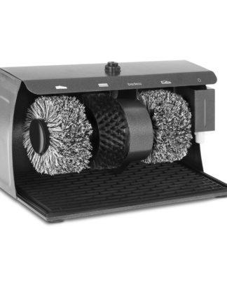 Stroj na čistenie topánok - 3 kefy - 1
