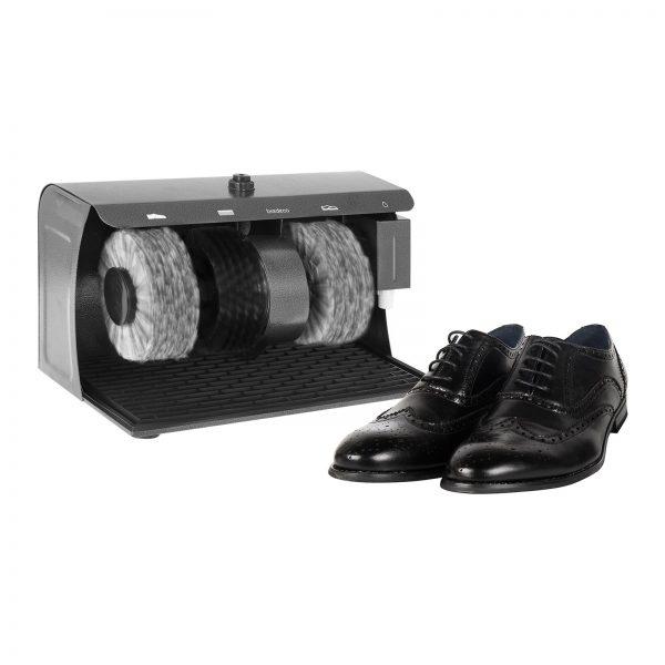 Stroj na čistenie topánok - 3 kefy - 2