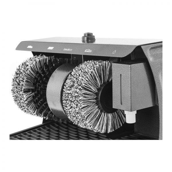 Stroj na čistenie topánok - 3 kefy - 4