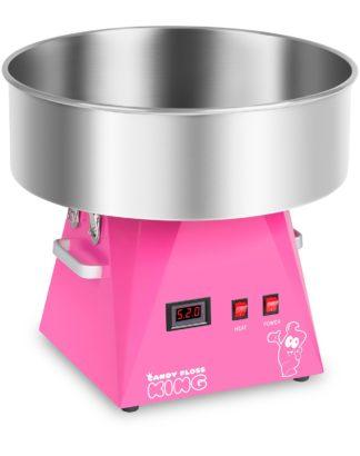 Stroj na cukrovú vatu - 52 cm - ružový - 1