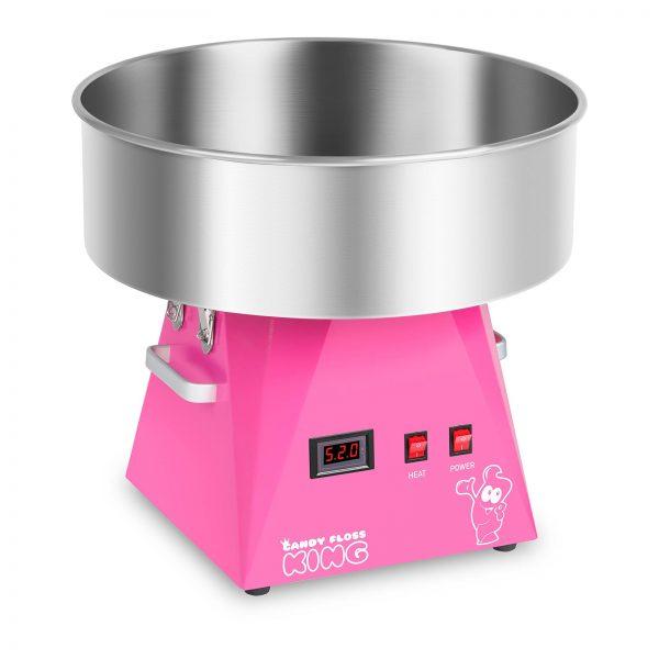 Stroj na cukrovú vatu - 52 cm - ružový | RCZK-1030-W-R