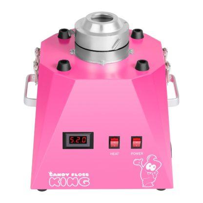 Stroj na cukrovú vatu - 52 cm - ružový - 2